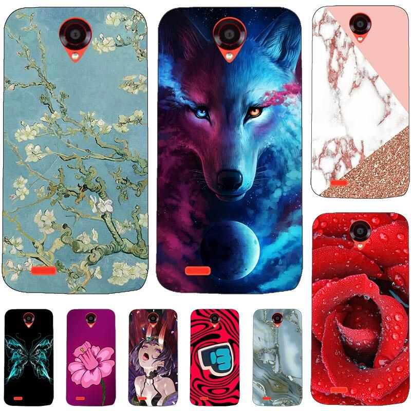 """Funda de teléfono de moda para Lenovo A859 A 859 5,0 """"funda trasera de oso de flores gato perro impreso pez mariposa Animal funda para Lenovo A859"""