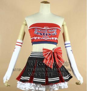 Лидер продаж, Женский костюм для косплея Love Live Honoka Kousaka, юбка-жилет, костюмы для косплея на Хэллоуин на заказ