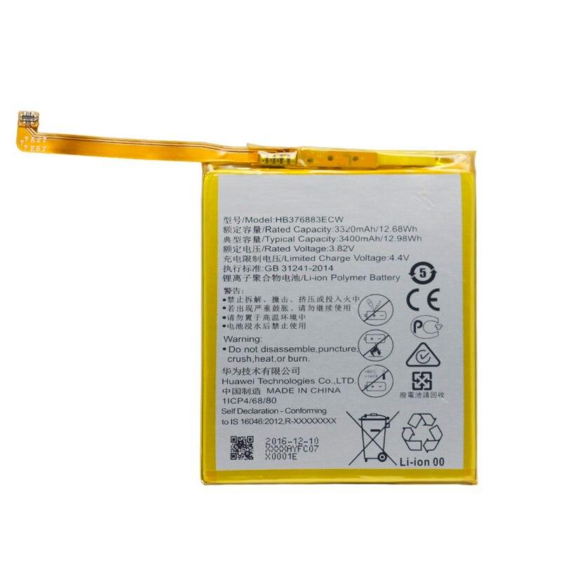 Сменный аккумулятор для телефона HB376883ECW для Huawei P9 Plus VIE-AL10 3400 мАч