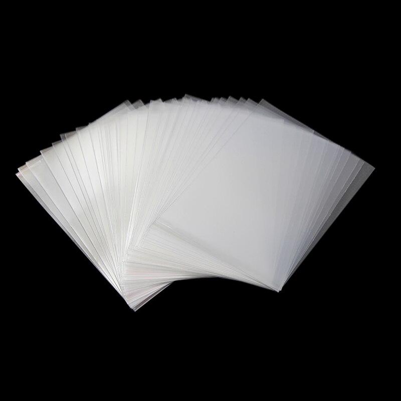 200 piezas 66*90mm funda de tarjeta Protector de tarjetas Barrie para herramienta mágica La Reunión Mtg para tablero de comercio mangas de tarjeta de juego