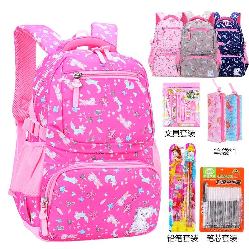 Детские школьные рюкзаки, школьные сумки для девочек, детские рюкзаки, портфель для детей, школьные сумки принцессы, рюкзак с принтом escolar