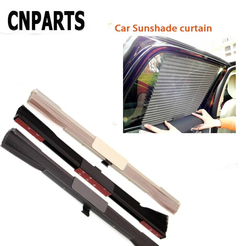CNPARTS автомобильный оконный складной солнцезащитный козырек, чехлы для штор для Skoda Octavia A5 A7 2 Fabia Yeti BMW E60 F30 X5 E53 Inifiniti