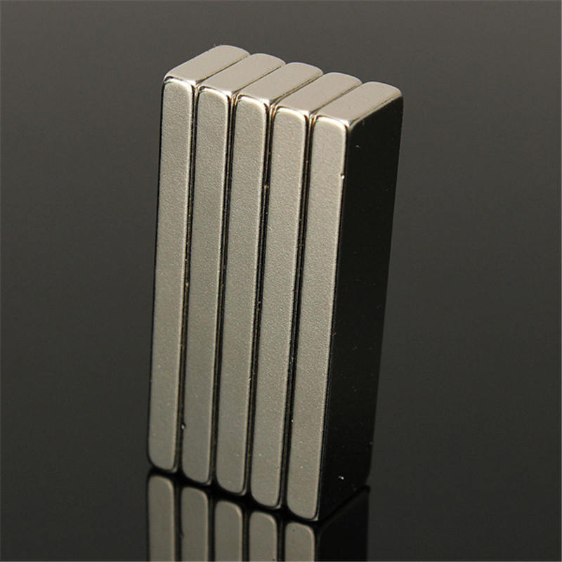40 x 10 x 4 mm 10pcs Super Strong Block Bar Magnets Rare Earth Neodymium N35 Permanent magnet Square magnet Hard to Break apart