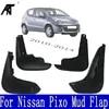 Брызговики для Suzuki Alto / A-Star Nissan Pixo 2009-2015 2010 - 2014