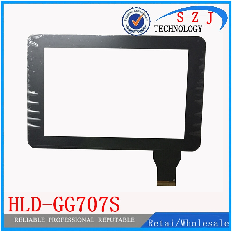"Neue 7 ""zoll Tablet für Onda V712 HLD-GG707S Kapazitiven touchscreen digitizer glasscheibe sensortausch Kostenloser Versand"