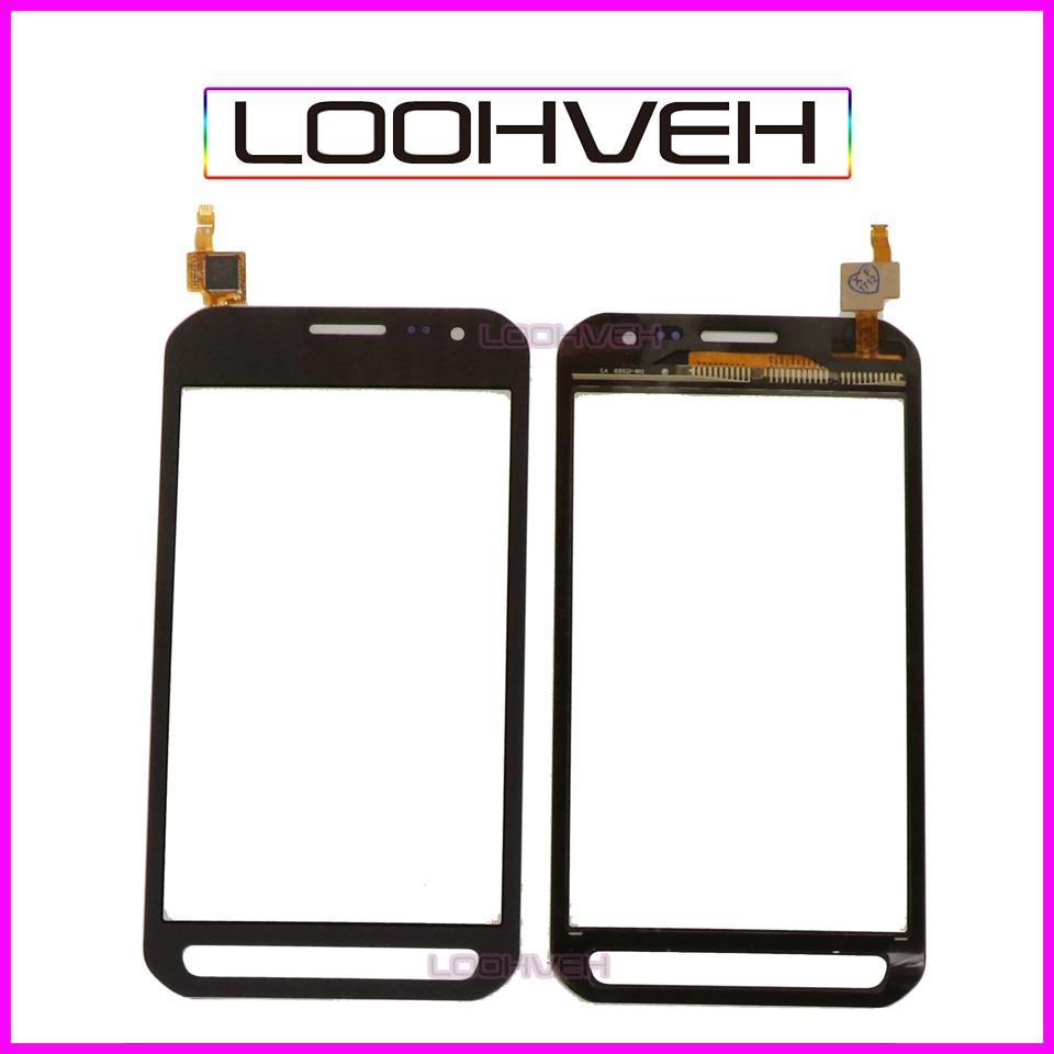 "10 unids/lote 4,8 ""para Samsung Galaxy Xcover 3 G388 G388F pantalla táctil digitalizador cristal frontal Sensor Panel alto calidad"