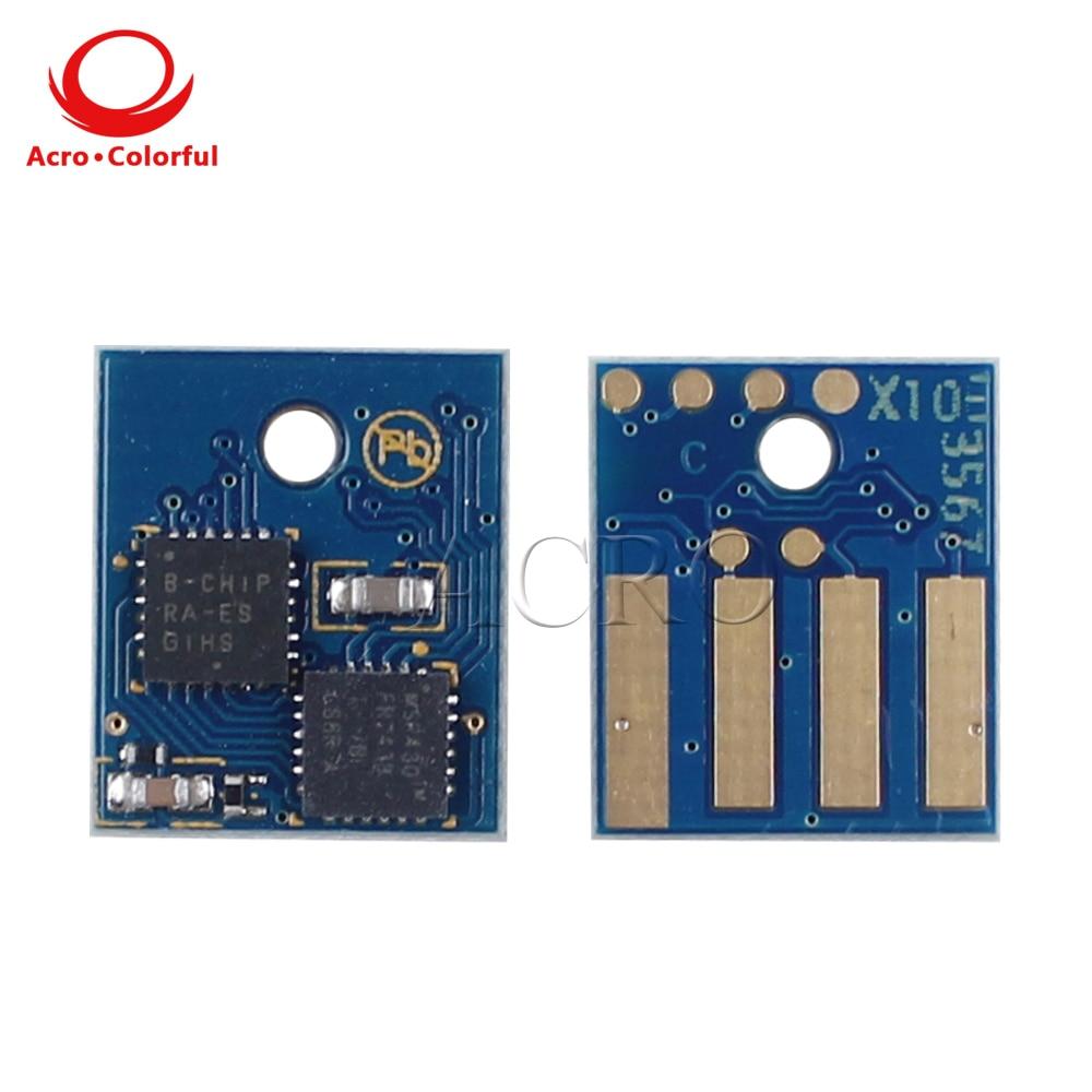 10 k 60f200 602 h toner chip para lexmark mx310 mx410 mx510 mx511 mx611 ue cartucho de toner impressora a laser recarga