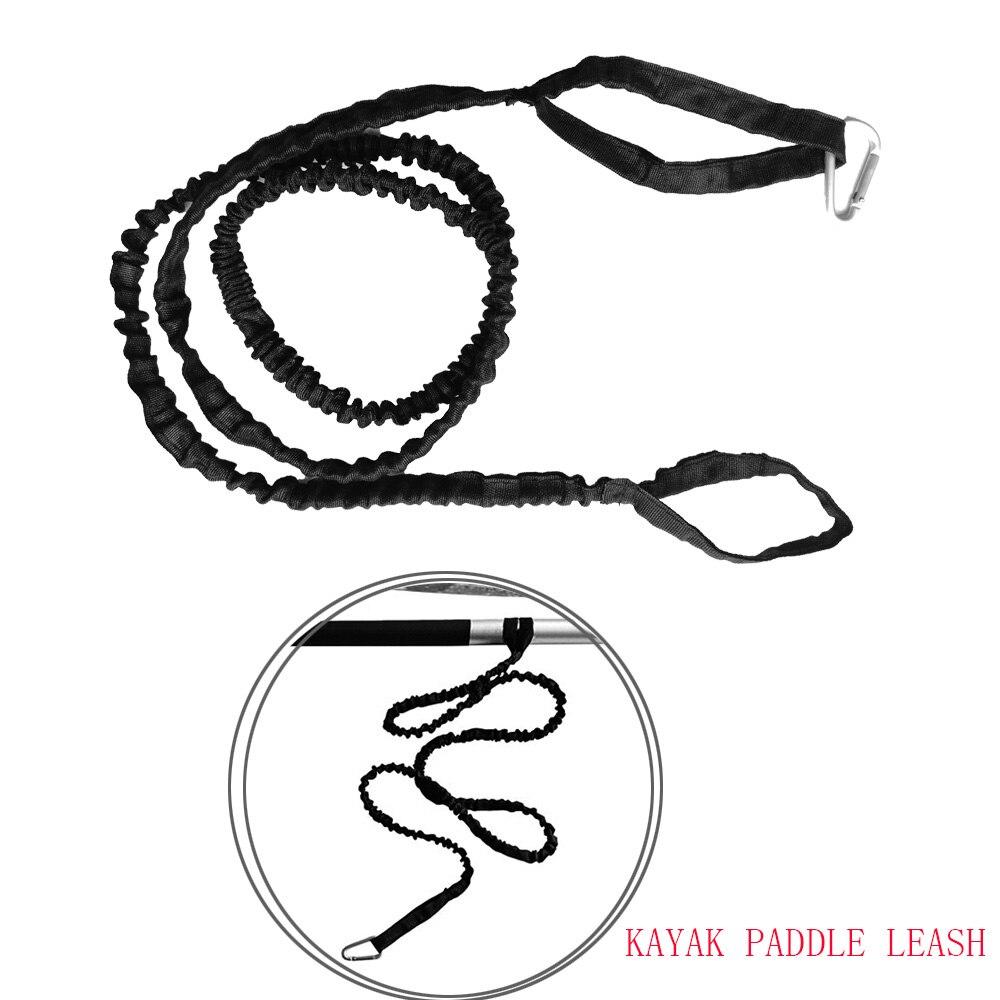 Нейлоновое весло для байдарки, каное поводок для безопасности, шнур для удочки, поводок для безопасности, веревка для галстука с карабином