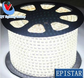 10m/lot 3014 LEDsitting room strip light 60leds white/warm LED string Waterproof 100v110v120v Instead of 5050 led strip