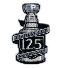 Finale de Hockey Stanley 125th Aniversary   En fer maillot brodé sur les badges de coupe Stanley nationale de 2017, très élégant