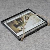 glass frame creative combination european glass living room photo wall photo wall home decoration gifts hand made frame
