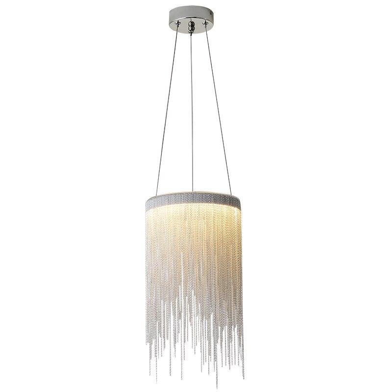 آخر-الحديثة الألومنيوم قلادة مصباح الجدة الألومنيوم سلاسل 12W LED قلادة ضوء الطعام غرفة المعيشة غرفة نوم ضوء (DL-60)