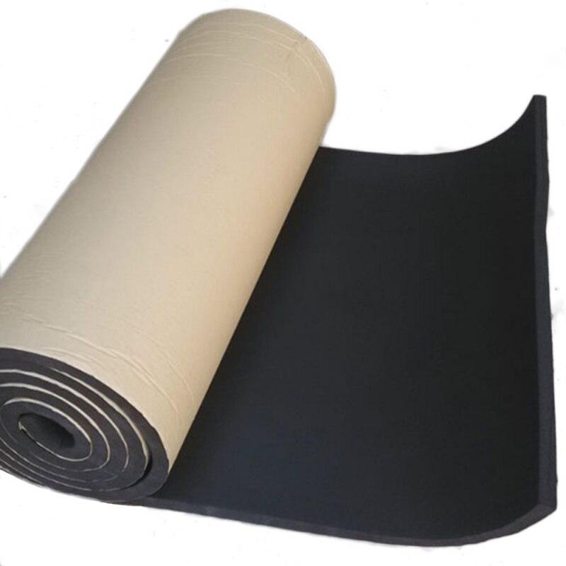 200X50cm 36 pies cuadrados coche Sonido automático amortiguación algodón aislamiento térmico almohadilla de espuma Material automóviles accesorios interiores nuevo