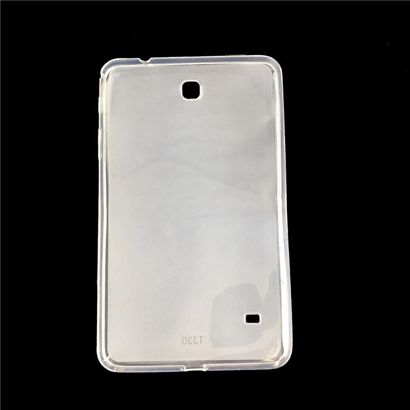 GUKEEDIANZI suave TPU funda para samsung Galaxy Tab 4 8,4 SM T330 T331 tabletas de silicona suave para Galaxy Tab 4 SM T330 8,4 pulgadas