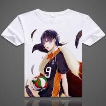 Haikyuu T-Shirt Anime hinata shyouyou kageyama tobio Cosplay t-shirts mode hommes femmes confortables à manches courtes t-shirts hauts