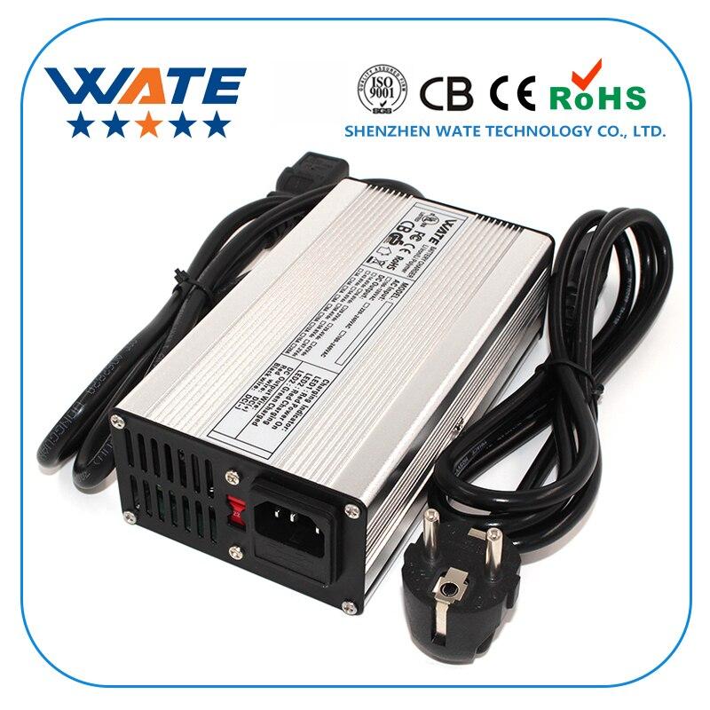 Cargador inteligente de batería LiFePO4 de 14,6 V y 10 a de 14,4 V usado para 4S 14,4 V LiFePO4 entrada de batería 90-265V certificación Global