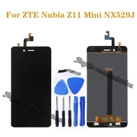100 test new for zte nubia z11 mini nx529j lcd touch screen digitizer component replacement for nubia z11 mini nx529j display
