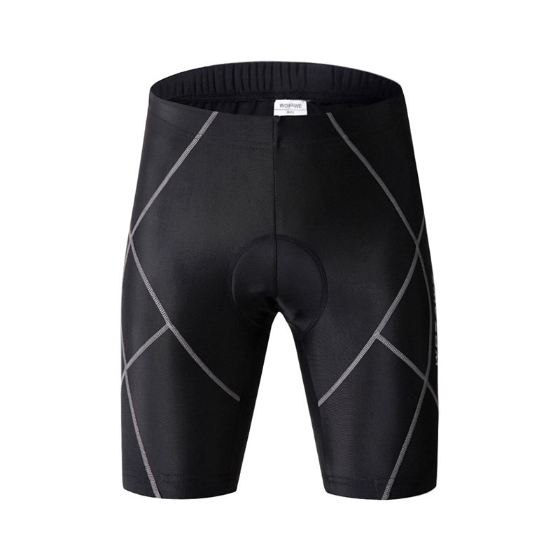 Pantalones cortos reflectantes acolchados de Gel 4D para ciclismo o ciclismo para hombre