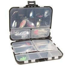 37 pièces/ensemble cuillère en métal Kits de leurre de pêche filature leurres de pêche avec boîte de pêche accessoires de pêche Pesca