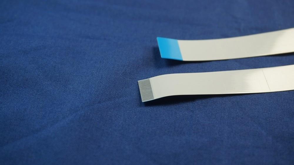 100 unids/lote cable plano Flexible FFC 22 PIN 0,5mm paso cinta plano...