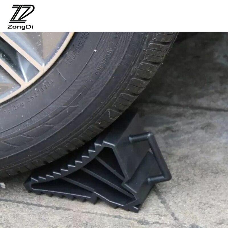 Cojín triangular de goma para coche ZD para Toyota Avensis RAV4 protector antipolvo para Renault Logan Captur Kia Rio Ceed Sportage 2017