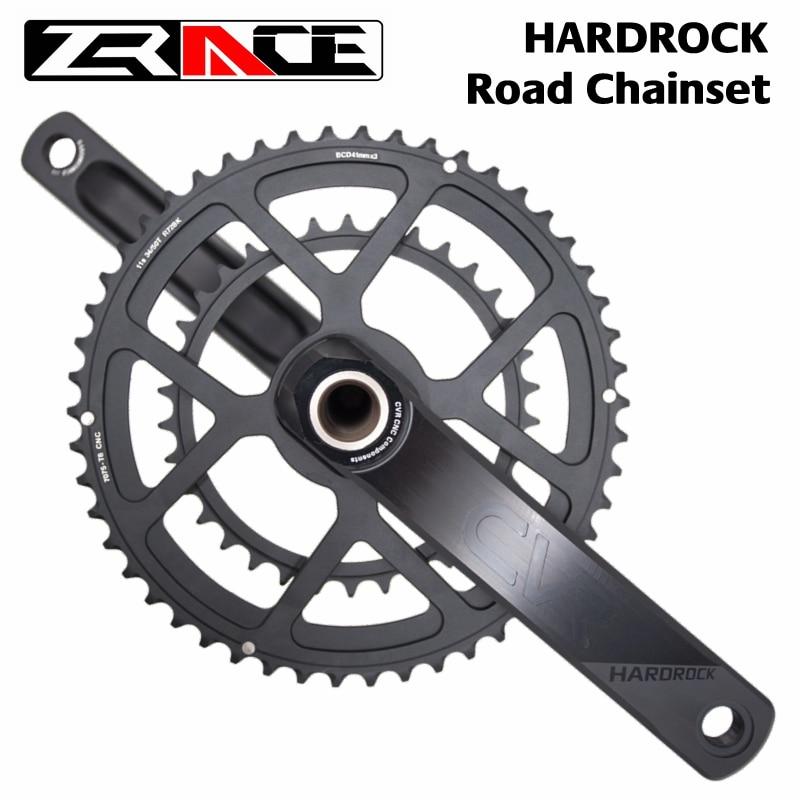 AliExpress - ZRACE HARDROCK 2 x 10 /11/12 Speed Road Chainset Chain Wheel crank protector, 50/34T, 165mm/170mm / 172.5mm / 175mm, Cranksets