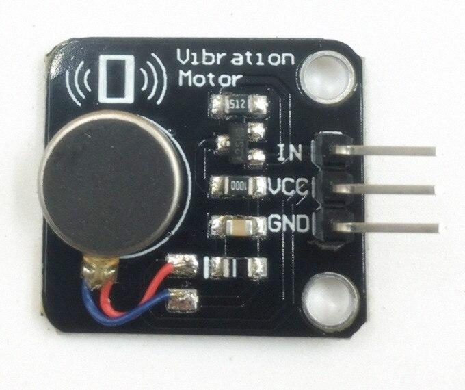 Vibración Motor módulo DC Motor vibrador para teléfono móvil vibración motor AlarmA...