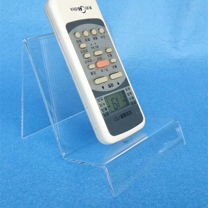 L100mm Acrylic T3mm Purse Wallet Bag Iphone Book Products Display Show Exhibition Rack Holders Stands 10pcs High Quality