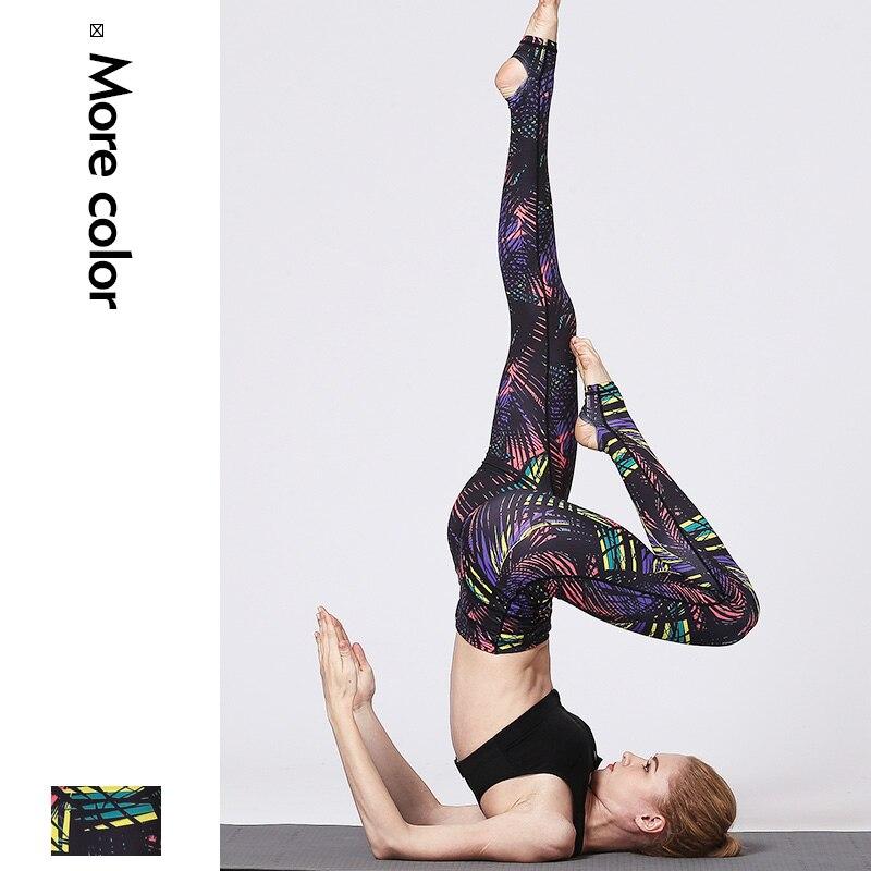 Ginásio de Esportes da Aptidão para Mulheres Calças de Cintura Qualidade com Compressão Leggings Senhoras Lulu Alta Yoga Flora Impresso Elasticidade Apertado