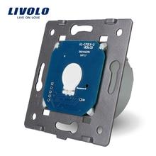 Livolo The Base of  Touch Screen Wall Light Switch Free Shipping, EU Standard, AC 220~250V,VL-C701