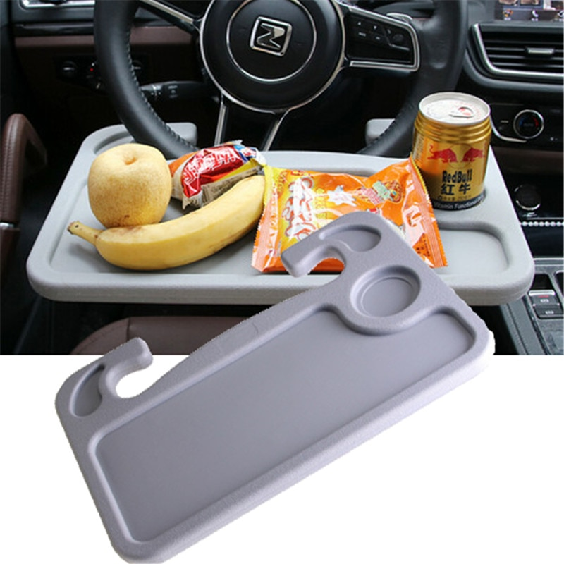 Nouveau bureau de voiture Portable de mode Mini ordinateur Portable ordinateur supports de Table volant créatif manger boisson travail support de stockage de voiture