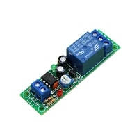 dc 5v 12v adjustable 0200s delay time switch turn on board timer relay module