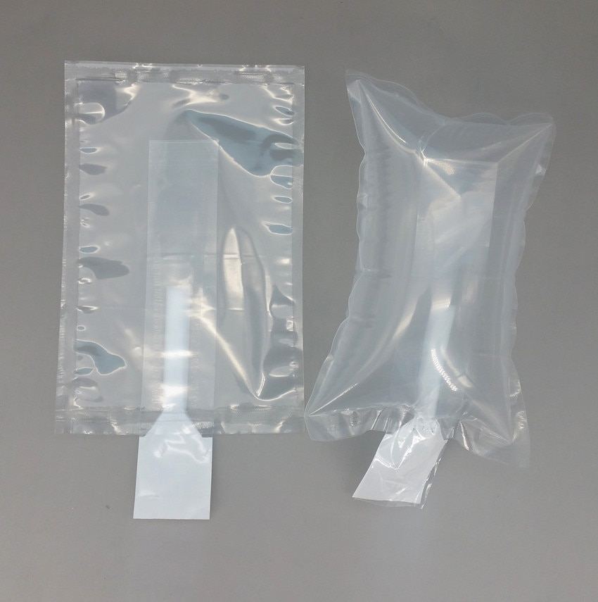 10x30cm Plastic Clear PE Protective Pump Inflatable Cushioning Buffer Packing Material Bags For Packaging Shockproof 4000pcs