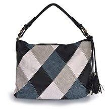 Luxury Handbags Women Bags Designer Casual Tote Shoulder Bags For Women 2018 Patchwork Ladies Hand Bag PU Leather Big sac bolsa