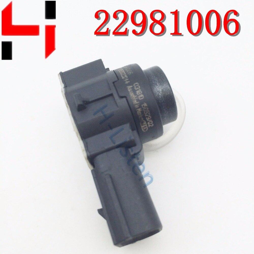 100% оригинальные автозапчасти парковочные датчики PDC 22981006 с кольцами бампер обратная помощь для 0263023244