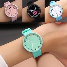 Новые силиконовые наручные часы, женские часы, модные кварцевые наручные часы для женщин, женские часы Relog Montre Femme D45