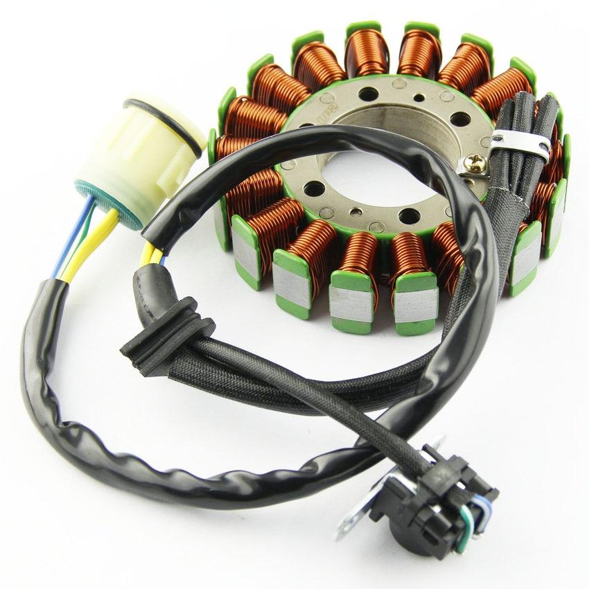 Motorcycle Ignition Magneto Stator Coil for HONDA TRX420 Rancher TE TM 2007-2013 Magneto Engine Stator Generator Coil
