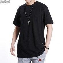 Camiseta de manga corta de algodón con cuello redondo 6xl para hombre de verano de 82 envío gratis Tallas grandes m-6xl