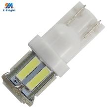 50 teile/los T10 194 168 7014 10 SMD W5W 10 Led Auto Tür Lichter 12V 7000K Instrument Lampen weiß Anzeige Lichter Super Helle