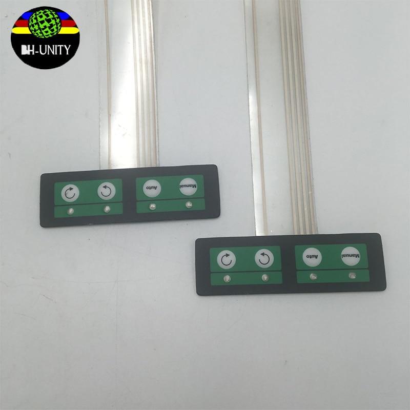 ¡Buen precio! placa de prensa de teclas de panel crystaljet para impresora de inyección de tinta Crystaljet infiniti phaeton, sistema de toma de teclado de pvc 4 Uds