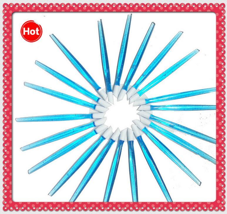 50pcs transparent Pretty Blue color nail pushers Free shipping, 98mm nail cuticle pushers,hot sale nail tools,bargin price