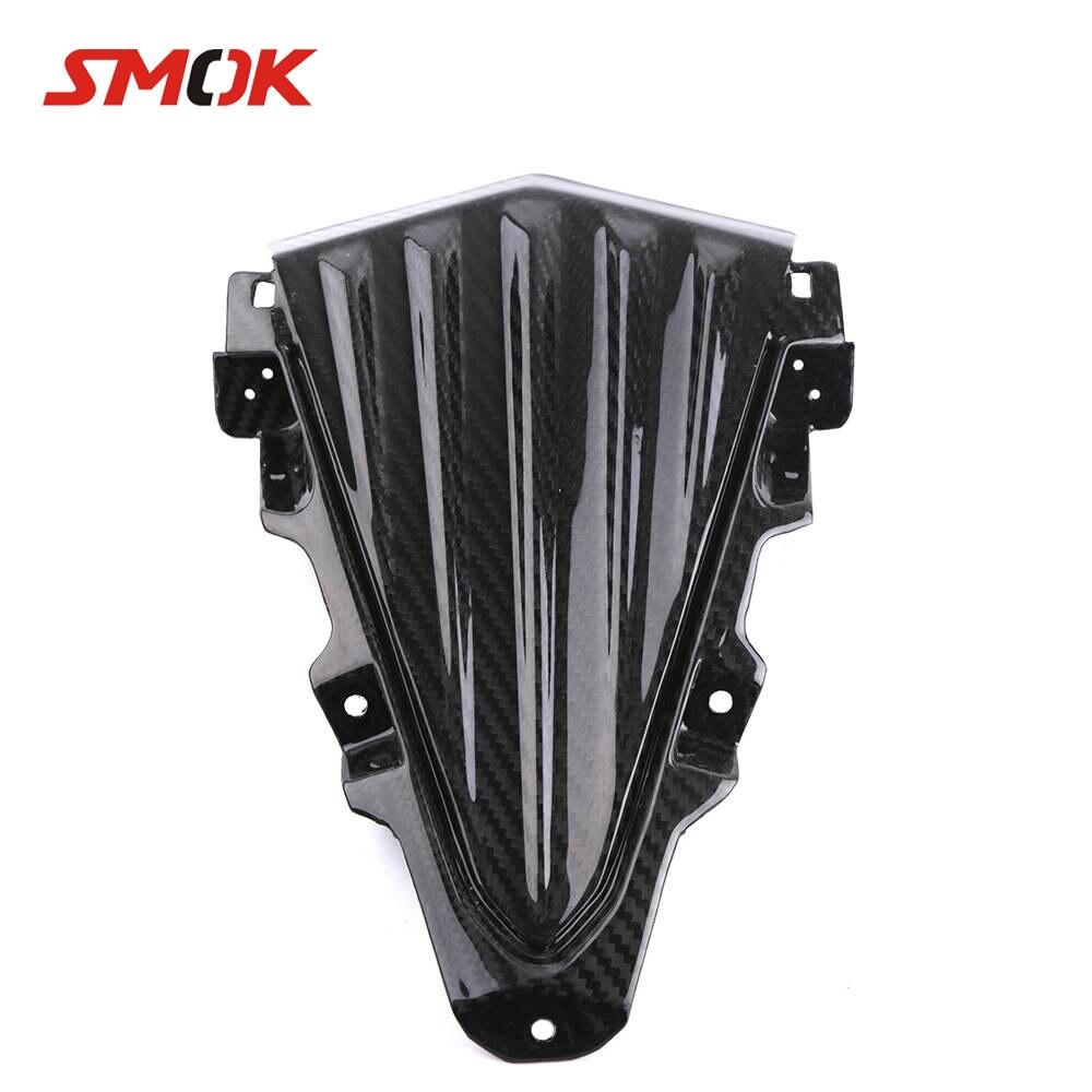 SMOK motocicleta fibra de carbono Deflector de viento parabrisas faro carenado Kits cubierta para Yamaha T max 530 Tmax 530