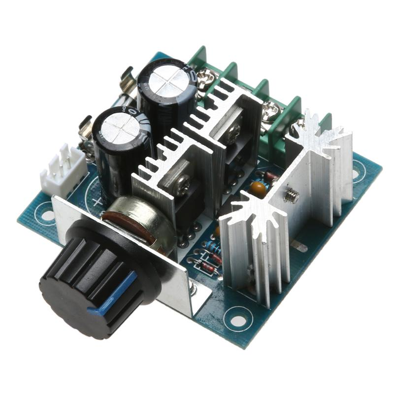 1 шт. цифровые режимы авто, pwm контроллер переключатель DC12-40V регулятор скорости двигателя режимы авто, PWM DC регулятор скорости двигателя