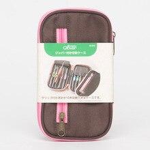 حقيبة كروشيه يدوية الصنع بنمط اصنعها بنفسك من علامة تجارية ياباني لمستلزمات الخياطة المنزلية حقيبة تخزين قماش من الكروشيه 10 فتحات