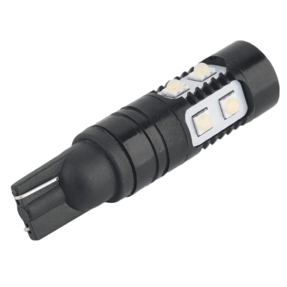 Bombilla LED de luz de retroceso de marcha atrás blanca brillante para coche de alta calidad 1pc 50W 921 912 T10/T15