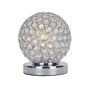 Simple modern decorative dimmable LED Crystal Table Lamps creative bedside lamp bedroom living room lamp
