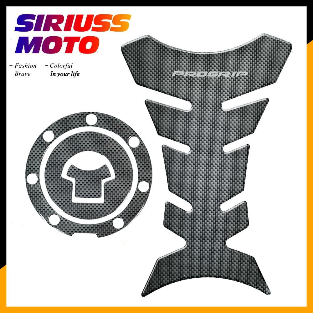 3D Carbon-look Motorcycle Tank Protector Gas Cap Decals Case for Honda CBR1000F CBR1000RR CBR1100XX 1999-2003