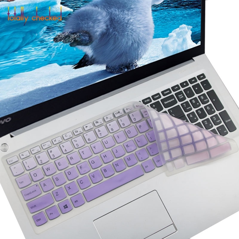 Para Lenovo IdeaPad V110-17IKB 110-17IKB 110 17IKB V110 110-15ISK 110-17ACL 2016 15,6 cubierta de teclado de pulgadas Protector de la piel