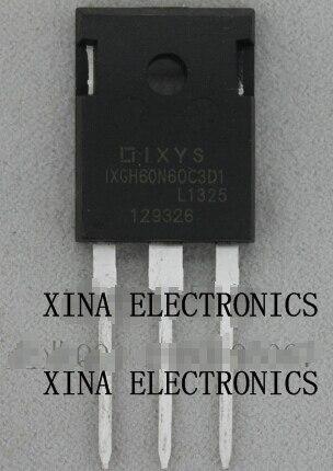 IXGH48N60C3D1 IXGH48N60 48N60 75A 600 V a-247 ROHS ORIGINAL 5 unids/lote envío gratis electrónica composición kit
