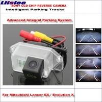 car parking reverse backup camera for mitsubishi lancer ex evolution x intelligent dynamic trajectory rear view camera